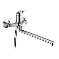 Смеситель WasserKRAFT Isen для ванны/умывальника с душем (лейка+шланг+держатель)