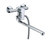 Смеситель WasserKRAFT Ammer для ванны/умывальника с душем (лейка+шланг+держатель)