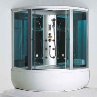 Гидромассажная кабина Coliseum C-0803C с парогенератором (1500х1500х2200)