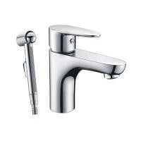 Смеситель WasserKRAFT Leine для умывальника псевдо-биде без донного клапана