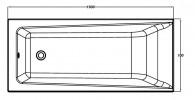 Ванна прямоугольная Cersanit LORENA 160x70
