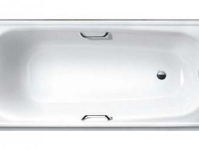 Ванна стальная c ручками White Wave Comfort 170x75