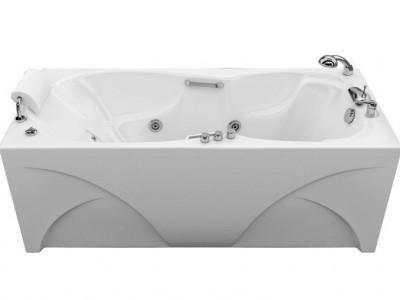 Ванна акриловая гидромассажная Triton Цезарь 180x80