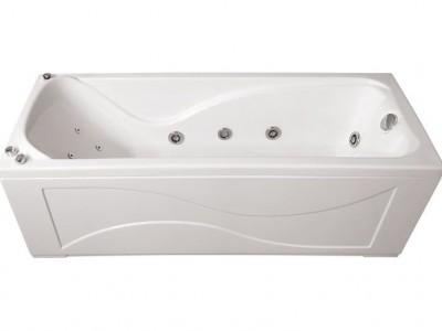 Ванна акриловая гидромассажная Triton Джулия 160x70