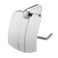 Держатель WasserKRAFT Berkel для туалетной бумаги с крышкой