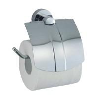 Держатель WasserKRAFT Donau для туалетной бумаги с крышкой