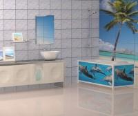 Пластиковый экран под ванну Метакам Ультралегкий Арт 1,7