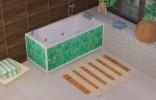 Пластиковый экран под ванну Метакам Ультралегкий 1.5