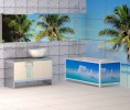 Пластиковый экран под ванну Метакам Ультралегкий Арт 1,5