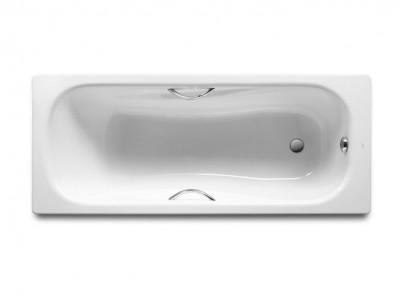 Ванна стальная c ручками Roca Princess 160x75