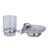 Держатель WasserKRAFT Oder стакана и мыльницы