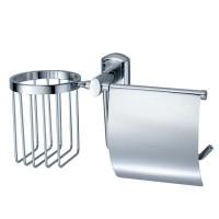 Держатель WasserKRAFT Oder для туалетной бумаги и освежителя