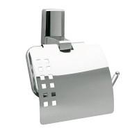 Держатель WasserKRAFT Leine для туалетной бумаги с крышкой