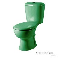 Унитаз-компакт Керамин Гранд зеленый