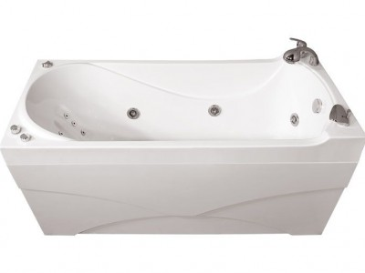 Ванна акриловая гидромассажная Triton Вики 160x75