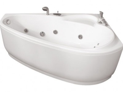 Ванна акриловая гидромассажная Triton Пеарл-Шелл 160x104 L/R